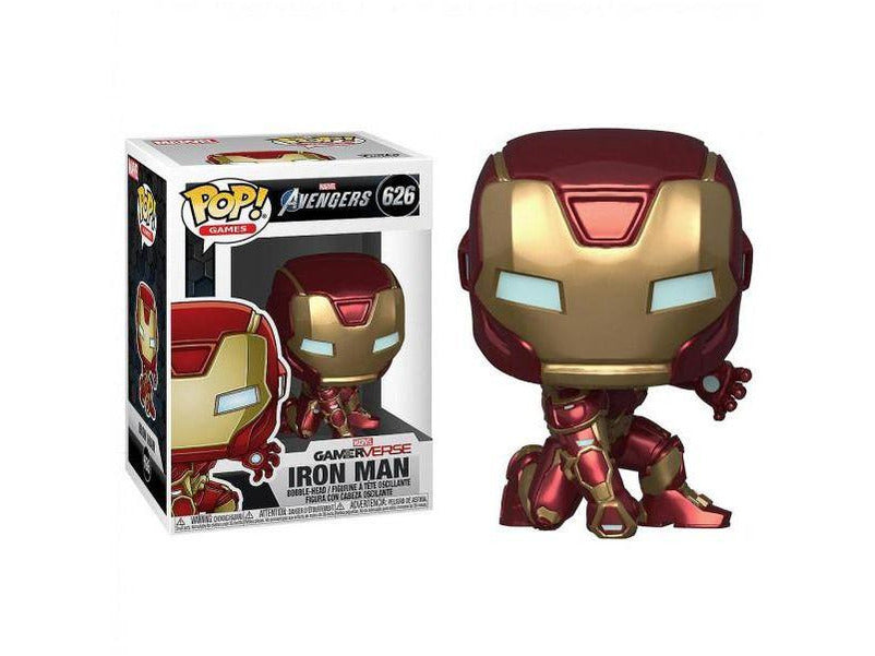 Avengers Game: Iron Man (Stark Tech Suit) Pop - [barcode] - Dragons Trading