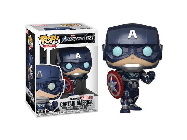 Avengers Game: Captain America (Stark Tech Suit) Pop - [barcode] - Dragons Trading