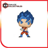 Chalice Collectibles Exclusive: SSGSS Goku (Kamehameha) - [barcode] - Dragons Trading