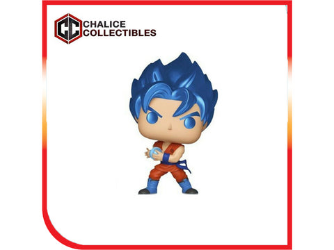 Chalice Collectibles Exclusive: SSGSS Goku (Kamehameha)