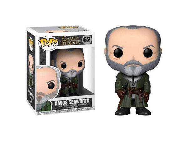 Funko POP! TV: Game of Thrones - Davos Seaworth - [barcode] - Dragons Trading