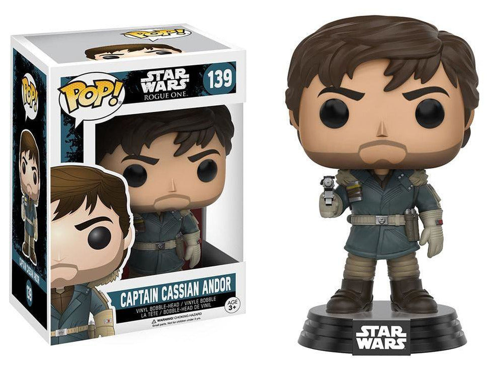 Star Wars: Rogue One Captain Cassian Andor Vinyl Figure - [barcode] - Dragons Trading