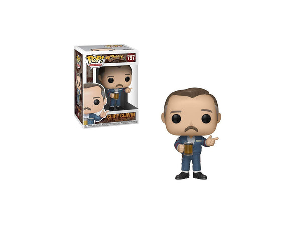 Funko POP! TV:  Cheers - Cliff Pop - [barcode] - Dragons Trading