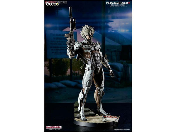Gecco Corp. MGSV Ground Zeroes Raiden White Armor Version - [barcode] - Dragons Trading