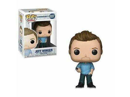 Funko POP! TV: Community - Jeff Winger Pop - [barcode] - Dragons Trading
