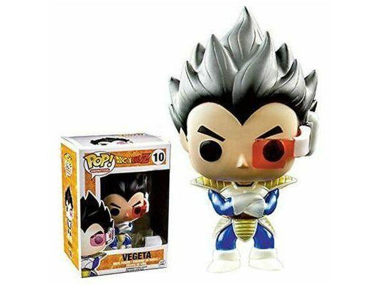 Dragon Ball Z - #10 - Metallic Vegeta (Convention Exclusive) - [barcode] - Dragons Trading