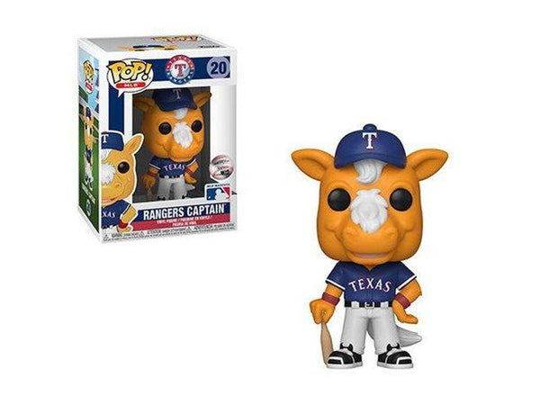 Funko POP! MLB: Ranger's Captain (Texas) Pop - [barcode] - Dragons Trading