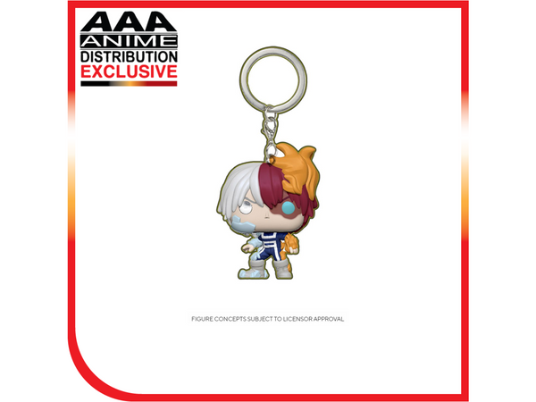 My Hero Academia Shoto Todoroki Glow-in-the-Dark Pocket Pop! Vinyl Figure - AAA Anime Exclusive - Dragons Trading