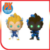 Funko Pop: SS2 Vegeta w/ Chase PX Exclusive Set of 2 Bundle - [barcode] - Dragons Trading