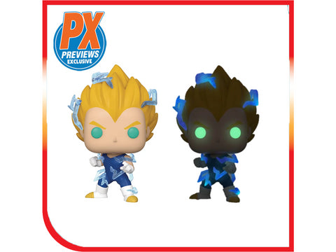 Preorder Funko Pop: SS2 Vegeta w/ Chase PX Exclusive Set of 2 Bundle - Second Wave