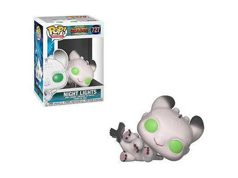 Preorder Pop! Movies: How to Train Your Dragon 3 - Night Lights 2 (White) Date: Feb