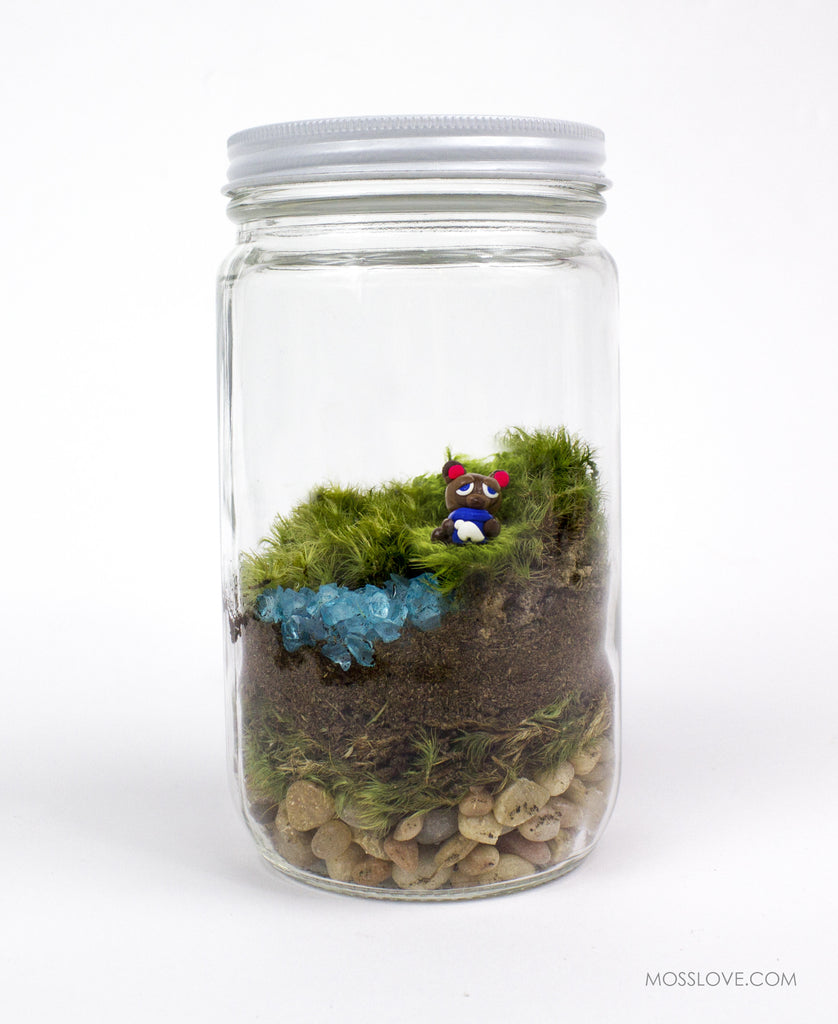 Terrarium // Animal Crossing Inspired