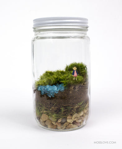 Terrarium // Stranger Things Inspired