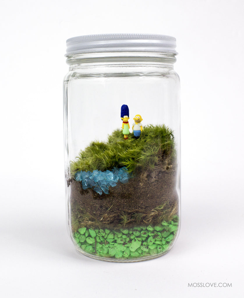 Terrarium // Simpsons Inspired (pick your characters)