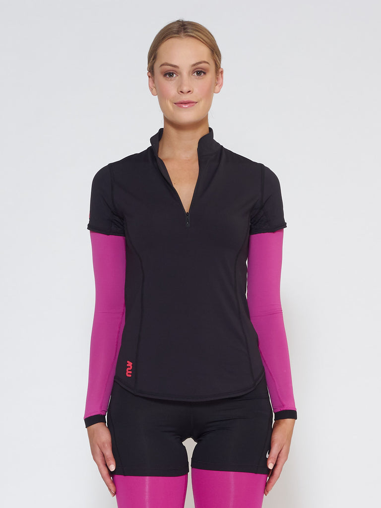 MUV Sportswear_FLARE MUV Tube Sleeve_Colour Wild Purple_UV Protecting Sportswear