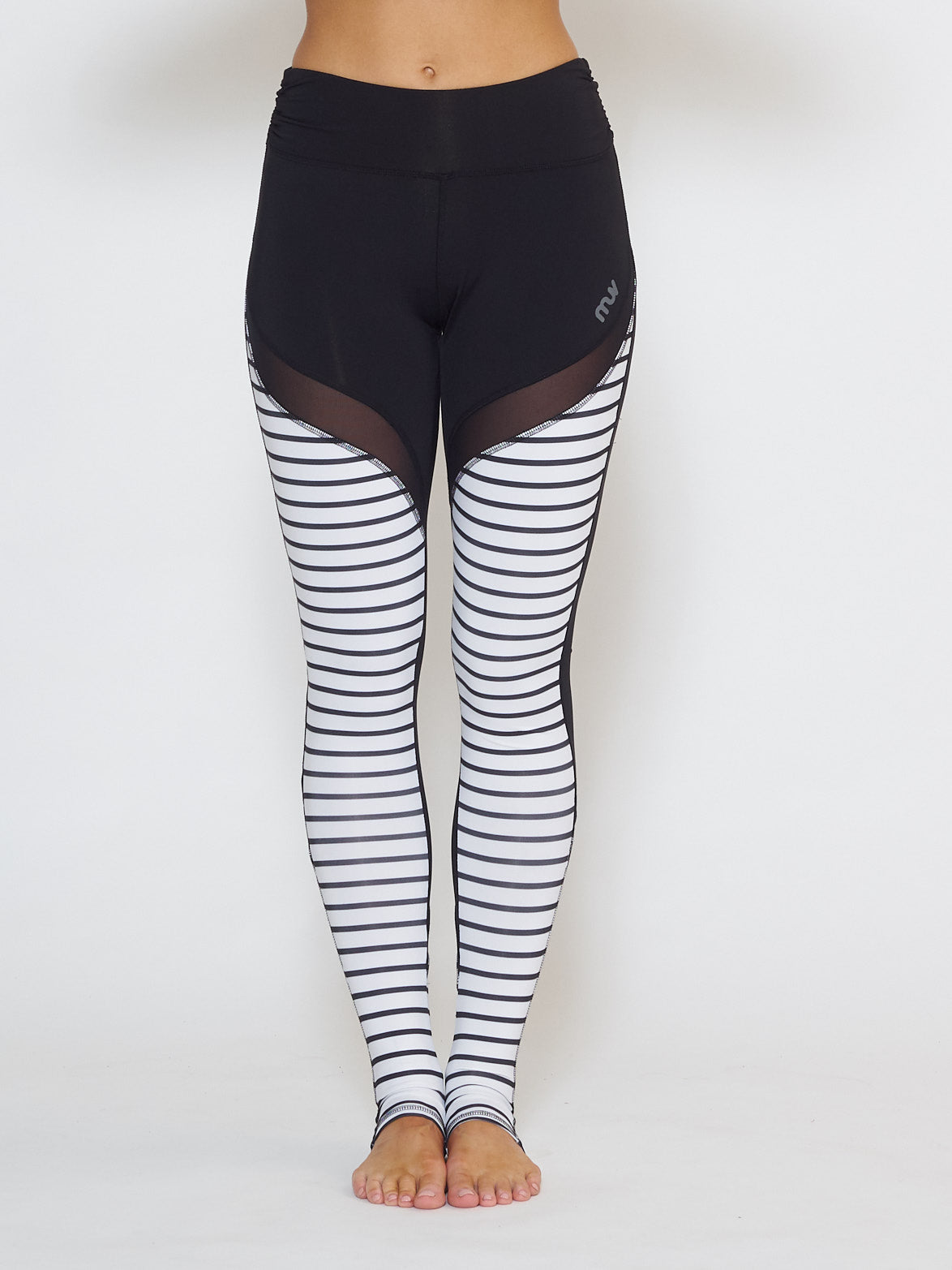 MUV Sportswear_GALE Full-Length Legging_Colour Stripe_UV Protecting Sportswear