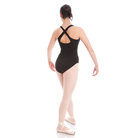 Wide Cross Strap Leotard Adults