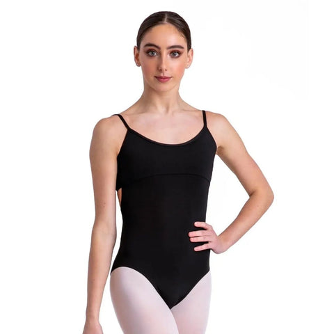Meryl Camisole Leotard Twist Back
