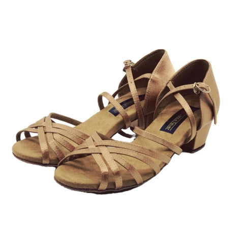 5525 Low Cuban Heel Dance Sandal