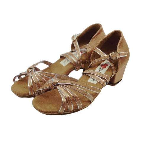 5555D Girls Dance Shoes Satin