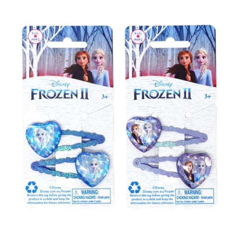 Frozen 2 Glitter Ice Gem Snap Hairclips
