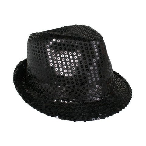 Trilby Sequin Hat