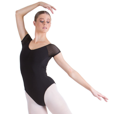 Tessa Cap Sleeve Leotard