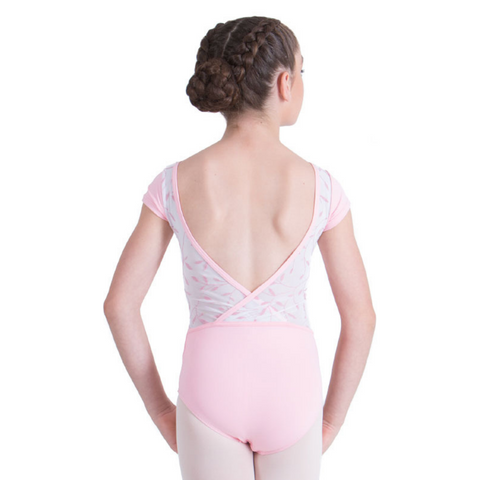 Lucinda Cap Sleeve Leotard Child