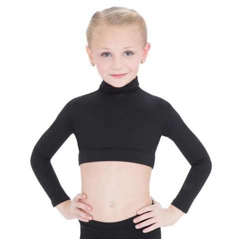 Turtleneck Long Sleeve Top Child