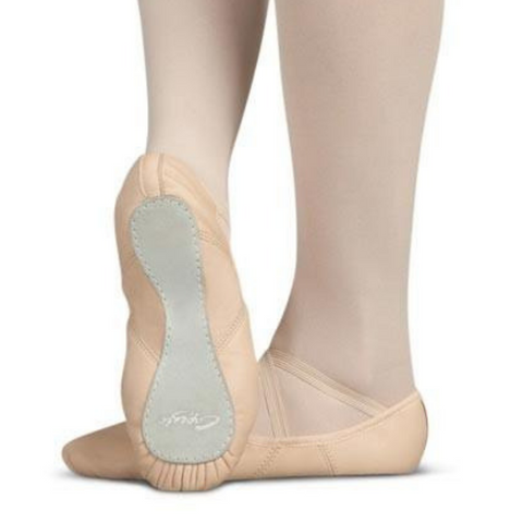 Juliet Leather Full Sole Ballet Shoe