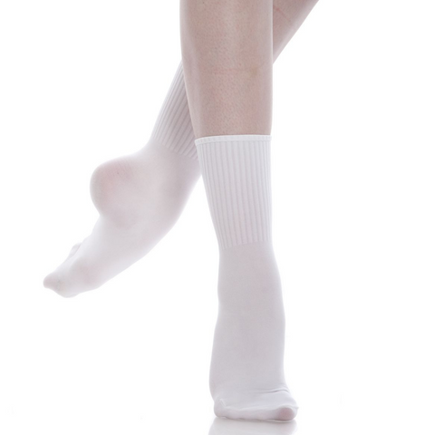 Ribbed Dance Sock