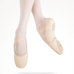 Elemental Reflex Leather Hybrid Sole Ballet Shoe