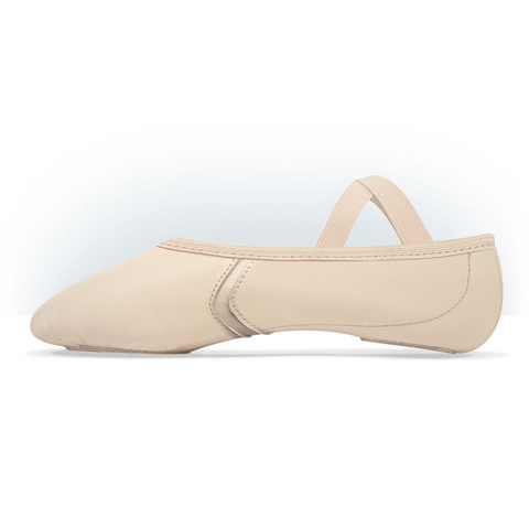 Elemental Reflex Leather Hybrid Sole Ballet Shoe Child
