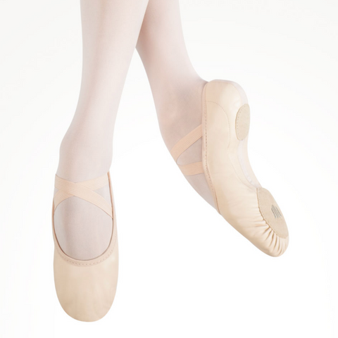 Elemental Leather Hybrid Sole Ballet Shoe Child