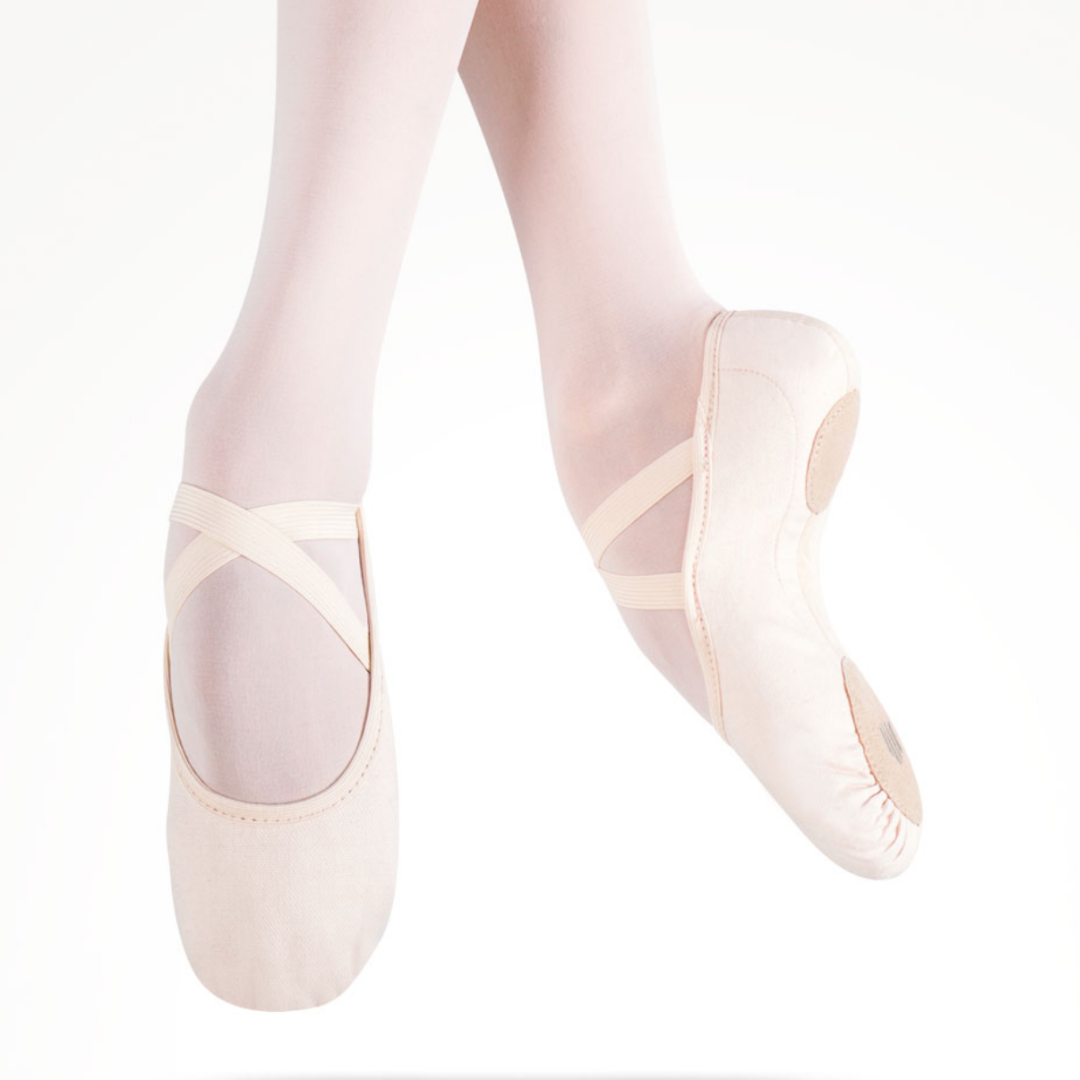 Intrinsic Canvas Hybrid Sole Ballet Shoe Child