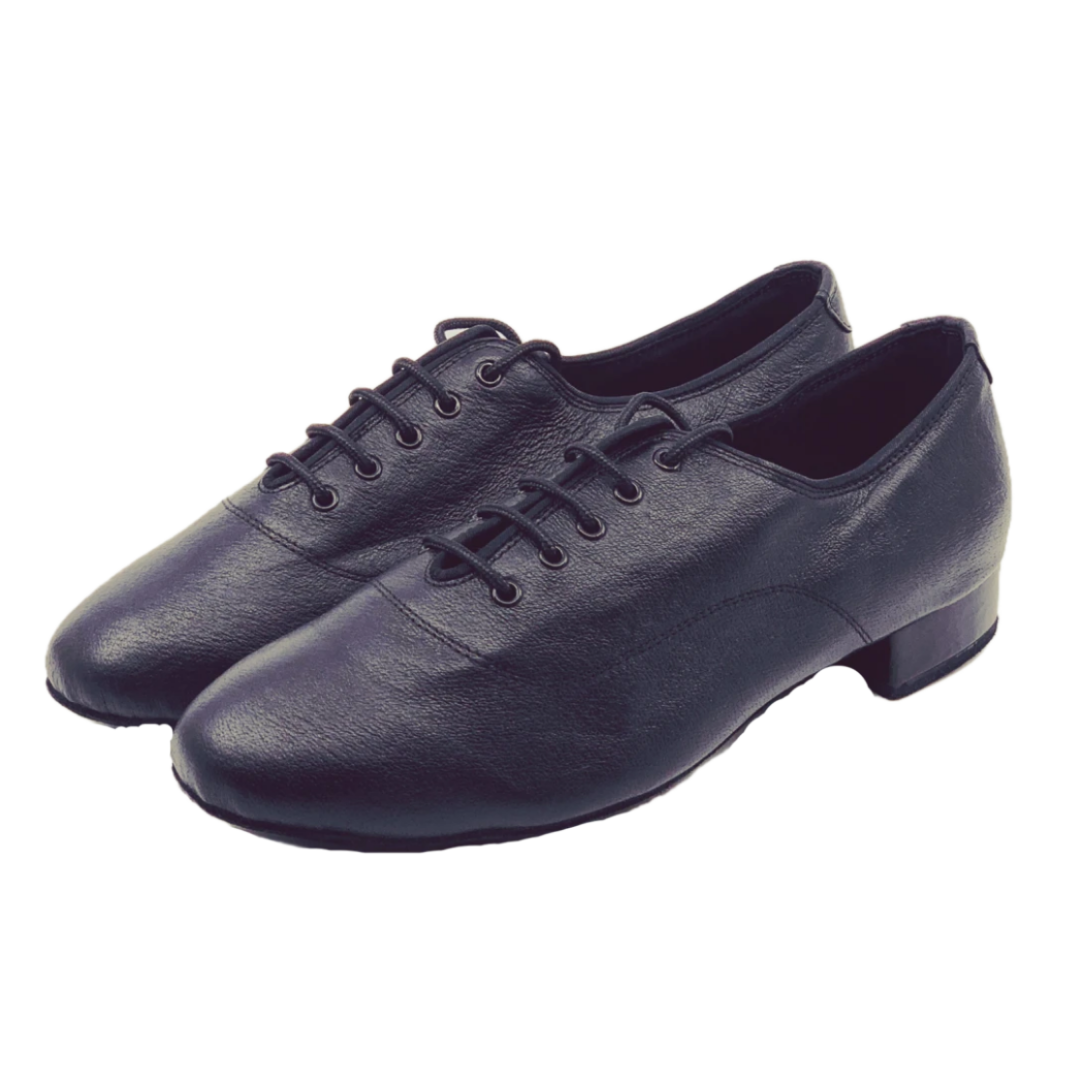 S8006 Gentlemens Leather Standard Lace Up Ballroom Dance Shoes