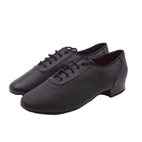 7790 Gentlemens Perforated Leather Ballroom Lace Up Dance Shoe