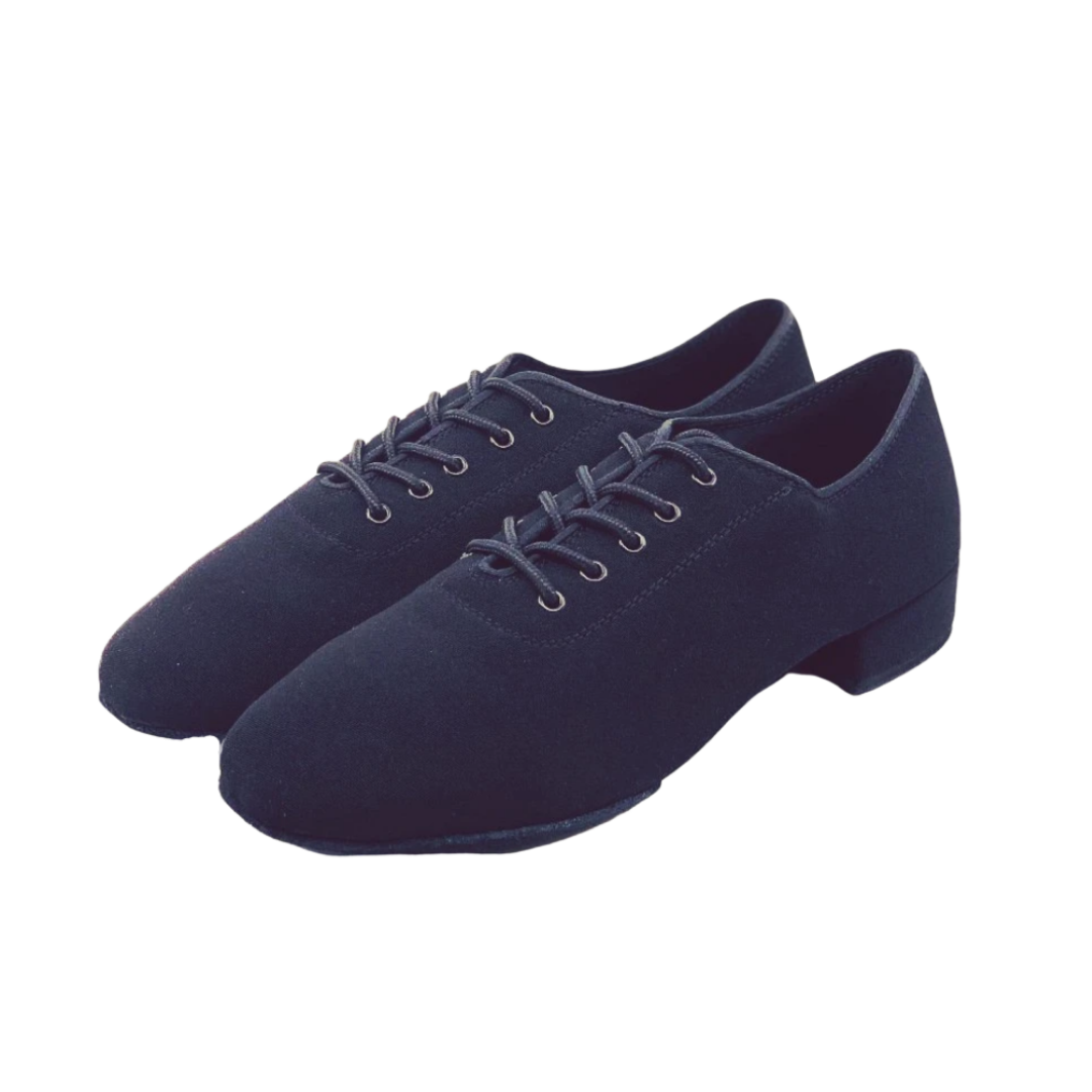 7791B Gentlemens Oxford Stretchy Lace Up Split-sole Dance Shoe