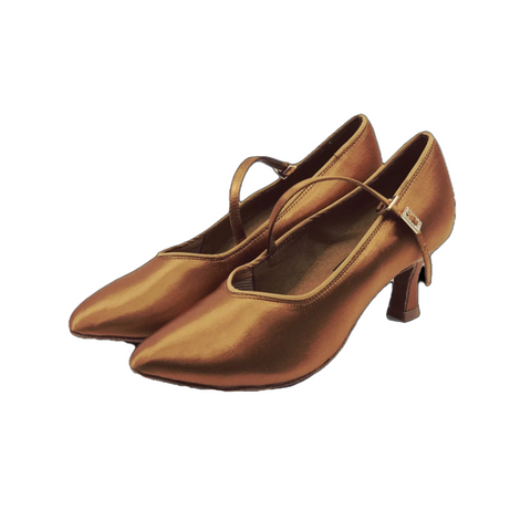 78752S Ladies Close Top Ballroom Dance Shoe