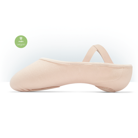 Intrinsic Profile Stretch Canvas Hybrid Sole Vegan Ballet Shoe