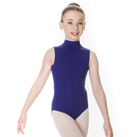 Zara High Neck Leotard Child