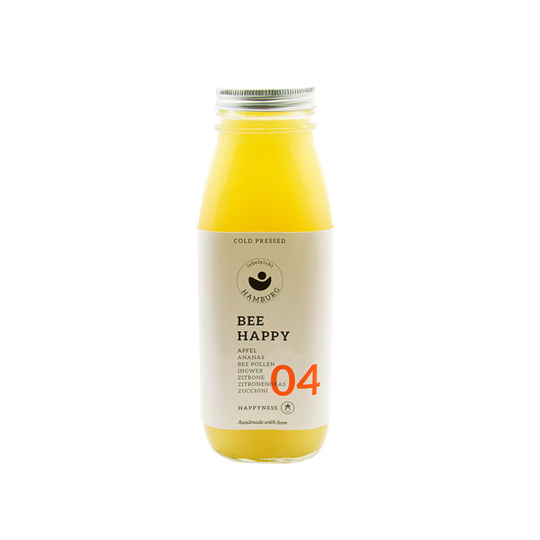 Bee Happy 04 - Cold Pressed Juice - lebeleicht Hamburg