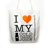 I love my Cold Pressed Juice Bag - lebeleicht Hamburg