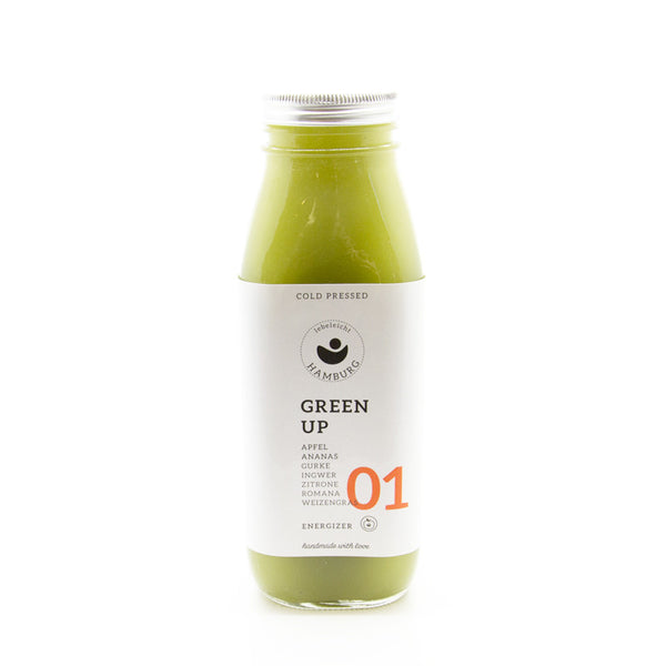 lebeleicht Hamburg Green Up Cold Pressed Juice