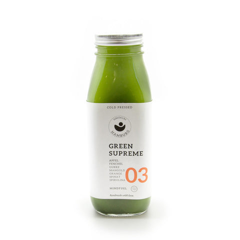 lebeleicht Hamburg Green Supreme 03 Cold Pressed Juice
