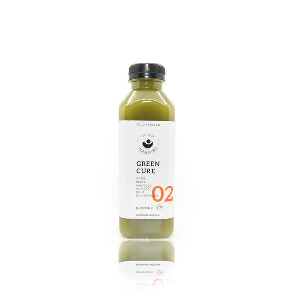 lebeleicht Hamburg Green Cure 02 Cold Pressed Juice