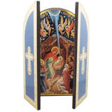 Nativity Scene Triptych