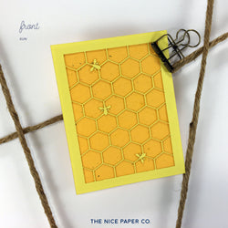 Hive - Note Card - The Nice Paper Co.