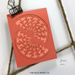Fresh Squeezed - Note Card - The Nice Paper Co.