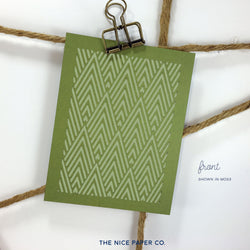 Highest Peak - Note Card - The Nice Paper Co.